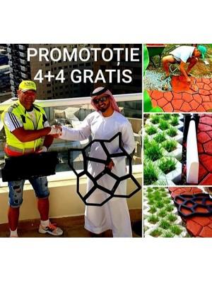 Set grila rustica - 4+4 GRATIS
